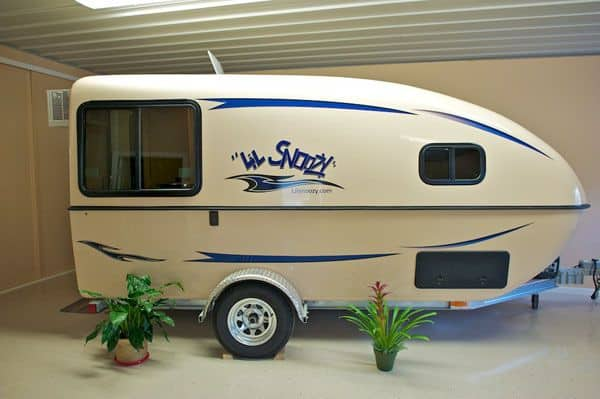 Best small campers trailers camperism for Small camper trailers with bathrooms