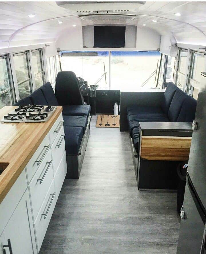 Short Bus Conversion 47 Camperism